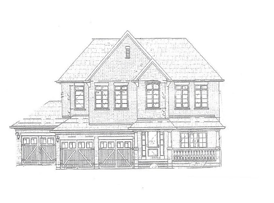 Sketch Detached Home In East Gwillimbury